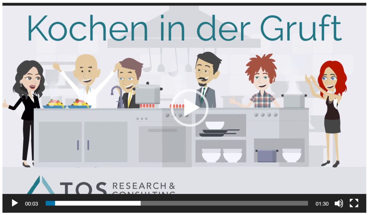 Video Kochen in der Gruft